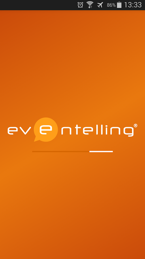 Eventelling- screenshot