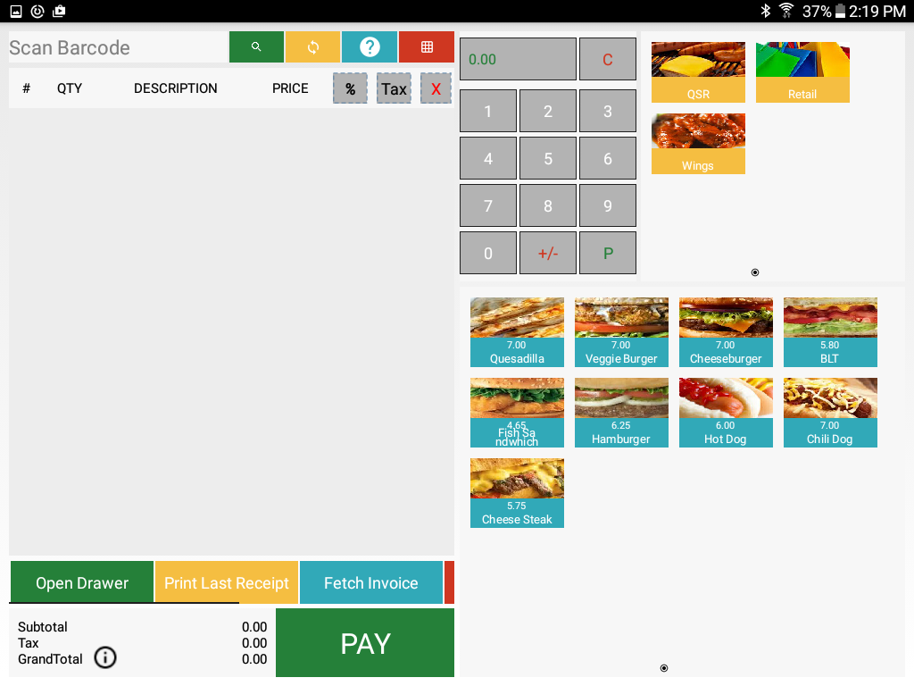 Point Of Sale - Sircle POS- screenshot