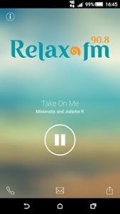 Relax FM screenshot 1