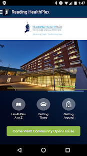 Reading HealthPlex- screenshot thumbnail