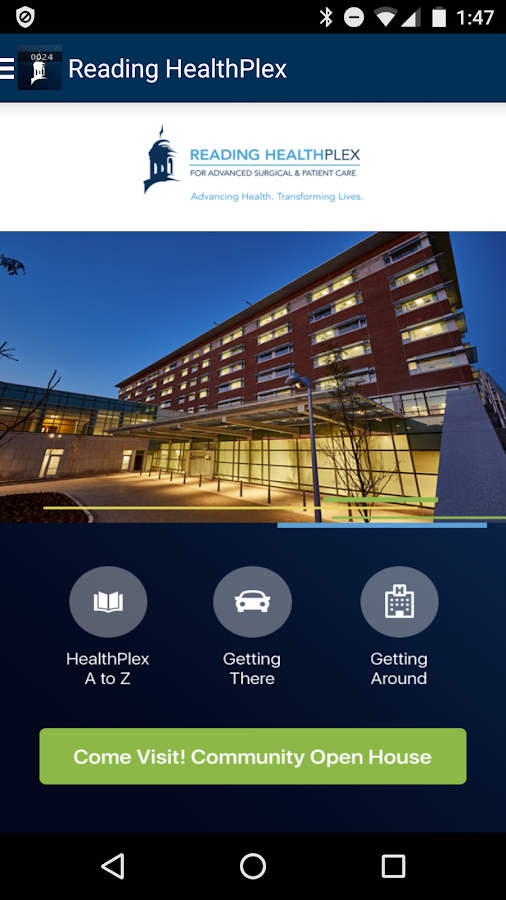 Reading HealthPlex- screenshot