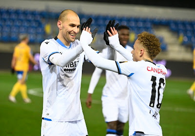Noa Lang wijst Club Brugge met twee treffers andermaal de weg tegen Waasland-Beveren