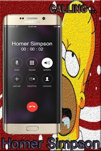 Call From Homer Simpson #1 - náhled