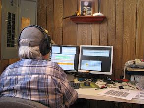 Photo: Bill N4SV on V/UHF FM