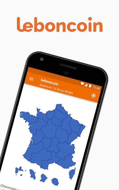 leboncoin, petites annonces Android App Screenshot