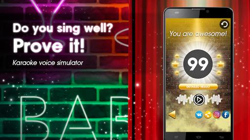 Karaoke voice sing & record 7.63 screenshots 2