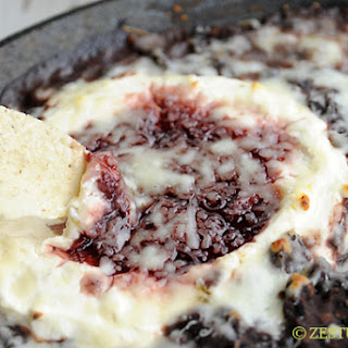 Raspberry Chipotle Black Bean Dip Recipe