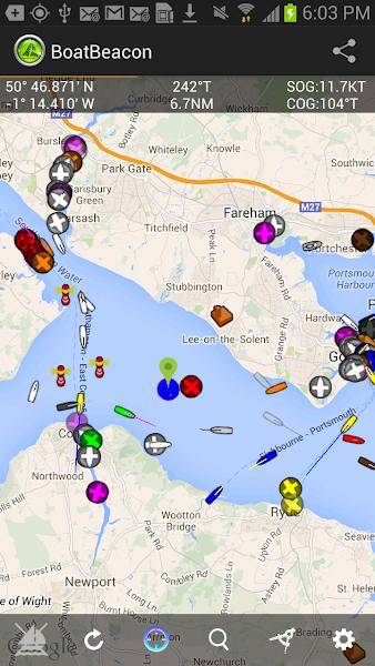 Download APK: Boat Beacon – AIS Navigation v2.24 [Patched]