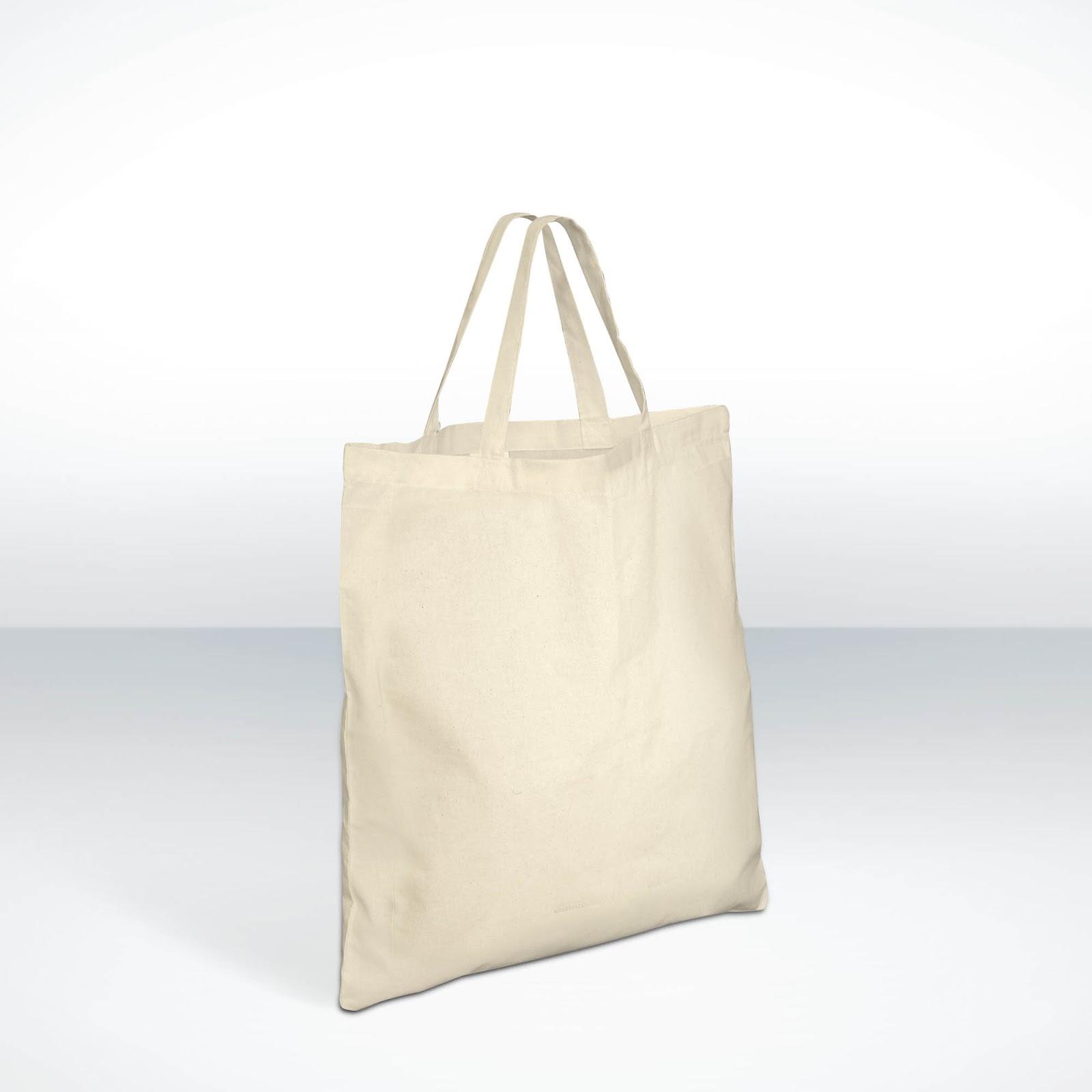Printed Cotton Bags (Short Handles)