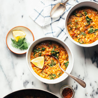 QUICK SMOKY RED LENTIL STEW Recipe