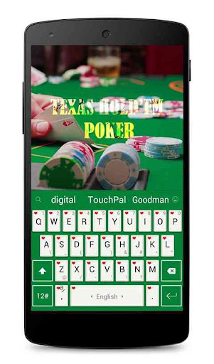 Texas Poker Keyboard Theme
