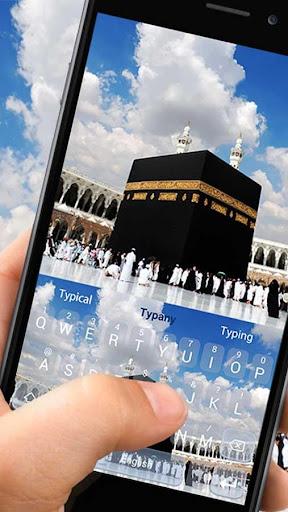 Beautiful Mecca Keyboard Theme 4.3 screenshots 1