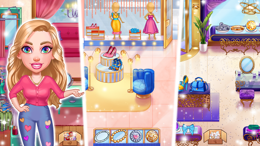 Emma's Journey: Fashion Shop apkpoly screenshots 6