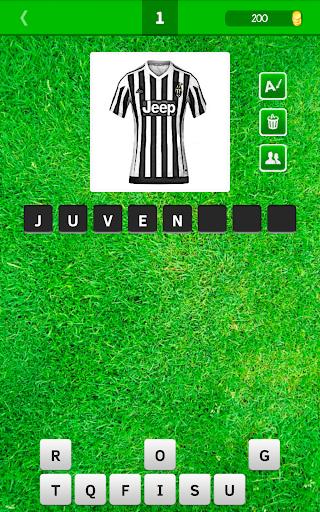 Угадай форму футбольного клуба скачать на планшет Андроид