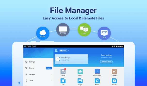 ES File Explorer File Manager APK screenshot thumbnail 9