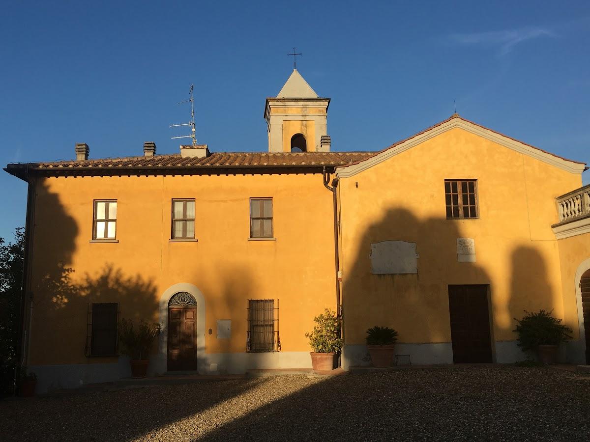 Villa Granducale, Chiesa di Sant'Antonio Abate, Alberese