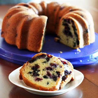 Blueberry Bundt Cake Recipe