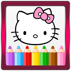 Coloring book for Kitty for PC