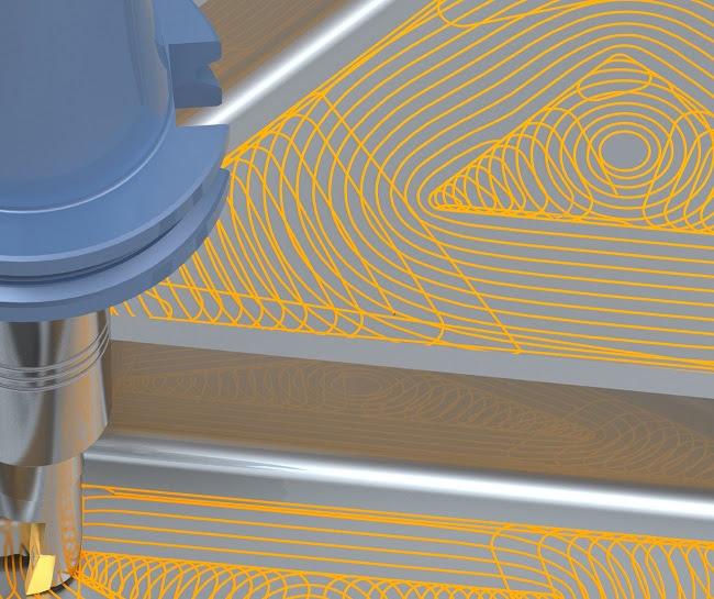 Высокоскоростная обработка EDGECAM Waveform
