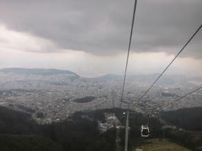 Photo: Quito from the TeleferiQo cable car
