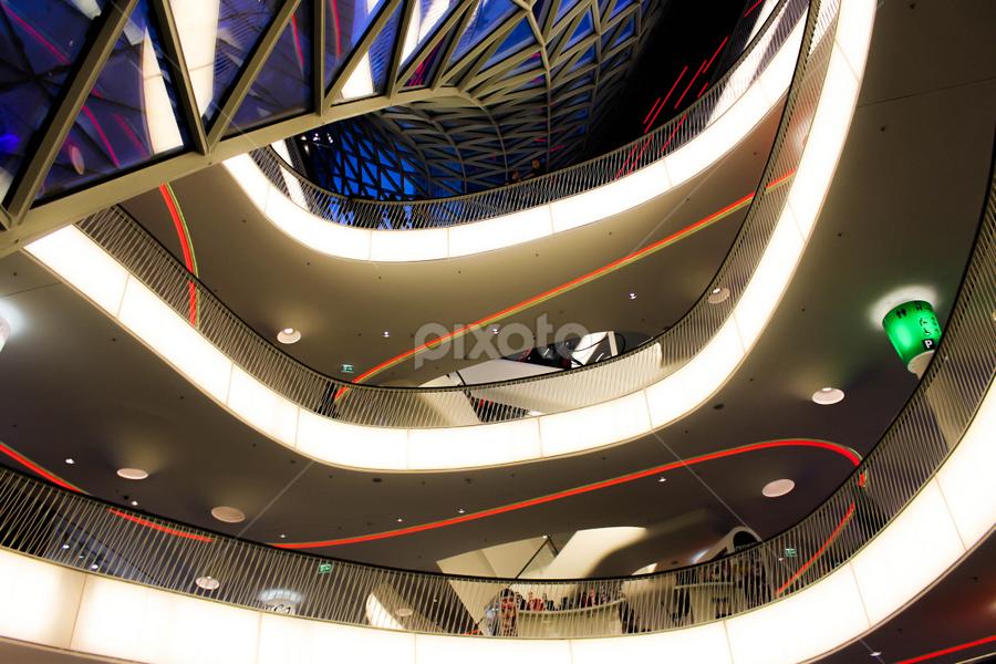 My Zeil - Frankfurt by Hossein Hn - Buildings & Architecture Architectural Detail