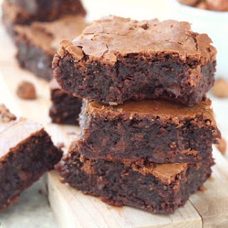 The Best Flourless Hazelnut Chocolate Chip Brownies.