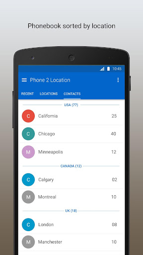 Phone 2 Location - Caller ID Mobile Number Tracker 6.52 screenshots 5