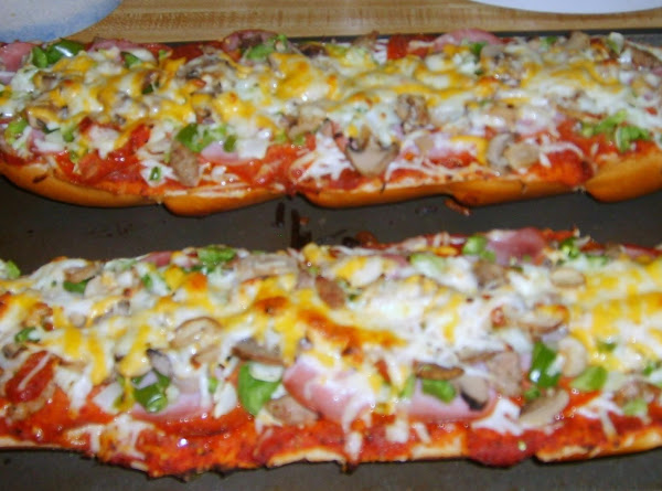 Easy French Bread Pizza Recipe