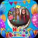 Birthday Cake With Photo Frame icon