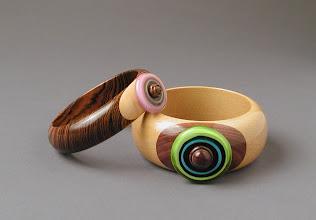 Photo: Bracelets David Pugh, turner Kristin Perkins, beadmaker