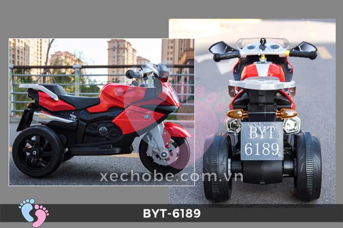 Xe mô tô điện 3 bánh BYT-6189 5