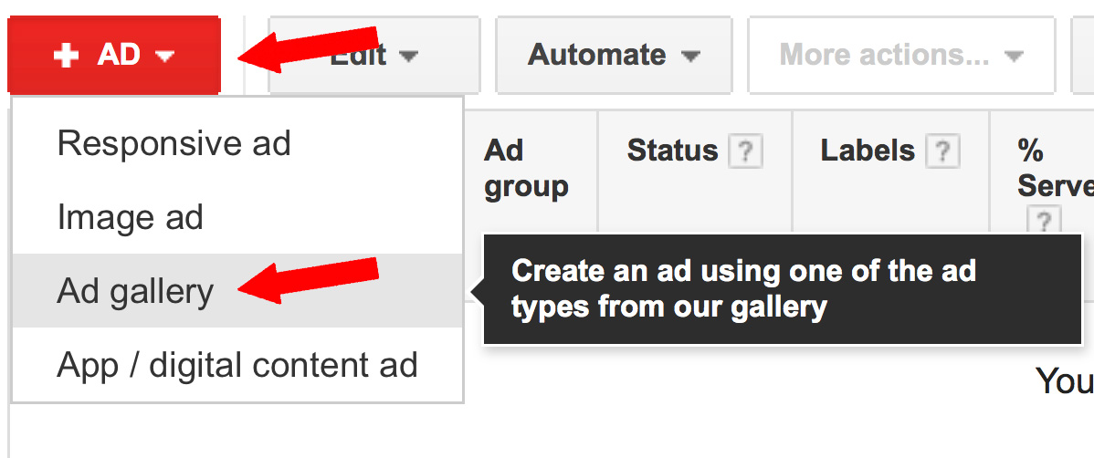 Creating Gmail Sponsored Promotions