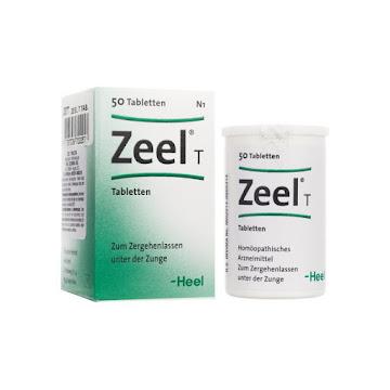 Zeel T Tabletas Frasco   X50Tab. Heel Medicamento Homeopático