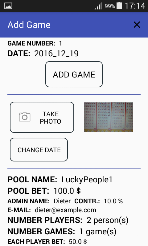 Lottery Pool -Four Leaf Clover- screenshot