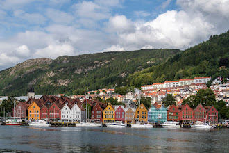 Photo: Bergen (NOR), Bryggen