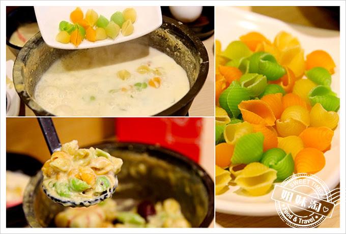 茉荳獨享鍋義式貝殼麵