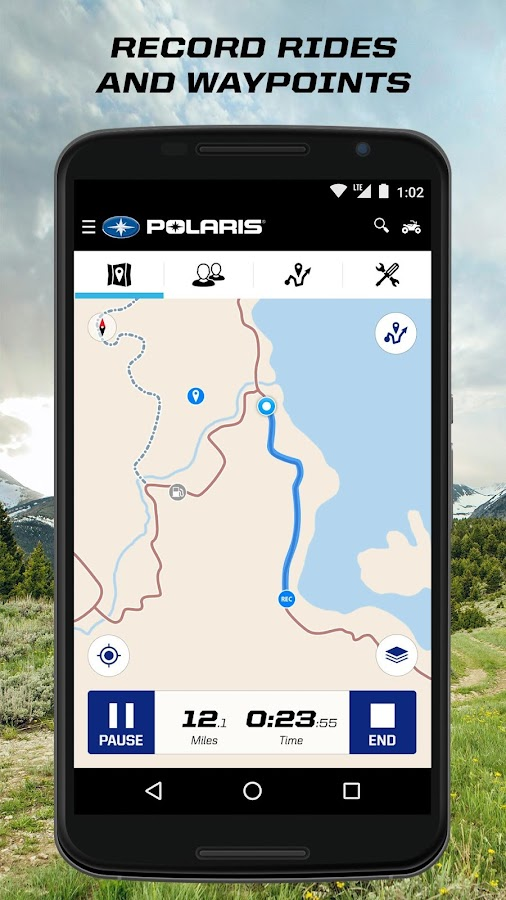 Polaris Ride Command- screenshot