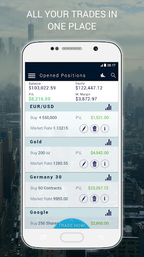 Xtrade - Online CFD Trading screenshot