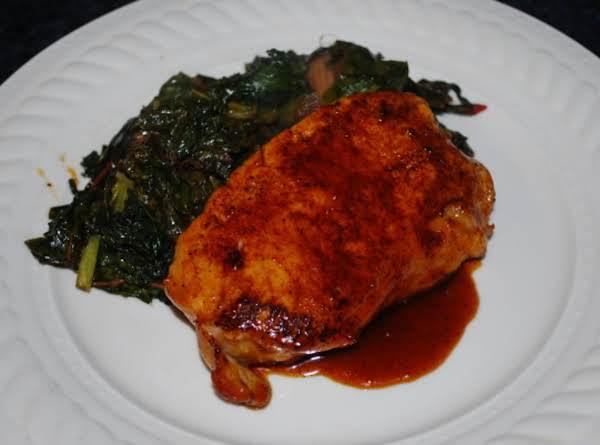 Maple-orange Glazed Pork Chops Recipe