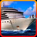 France Tourists Cruise Ship icon