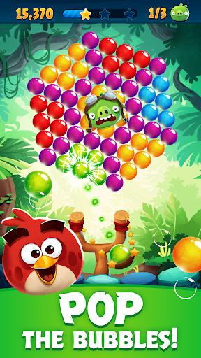 Angry Birds POP Bubble Shooter screenshot 1