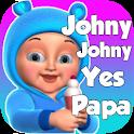 Johny Johny yes papa Nursery Rhymes - kids Songs icon