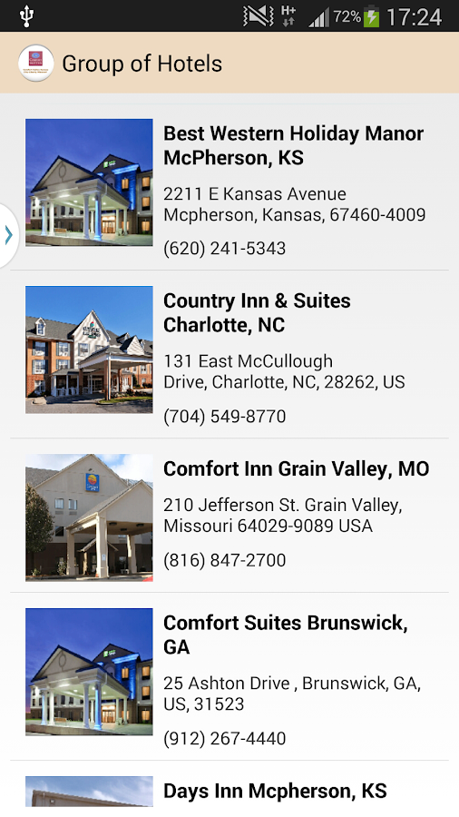 Comfort Suites Kansas City MO- screenshot