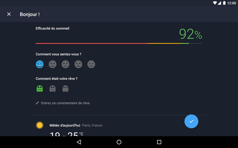 Sleep better runtastic appli pour mieux dormir applications android sur google play - Application pour bien dormir ...