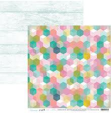 Heidi Swapp Pineapple Crush Cardstock 12X12 - Good Vibes UTGÅENDE