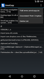 OmniCopy Cloud Copy & Paste- screenshot thumbnail