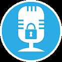 voice lock screen icon