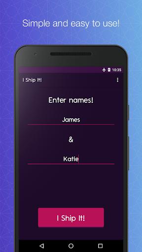 I Ship It - Fandom Couple Name Generator LOVE GAME by Jester Dev