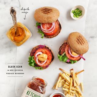 Black Bean & Quinoa Burgers.