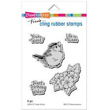 Stampendous Cling Stamp - Tweet Birdie